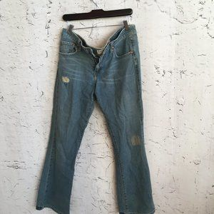 LEVIS SUPERLOW BOOT CUT JEANS 318 11M